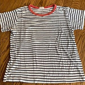 John galt striped t shirt